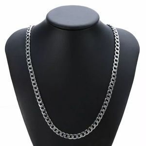 Other - 7mm Silver Chain Necklace